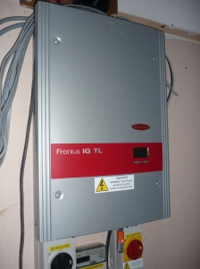 The solar control panel