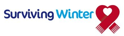 Saga Surviving Winter Appeal Logo